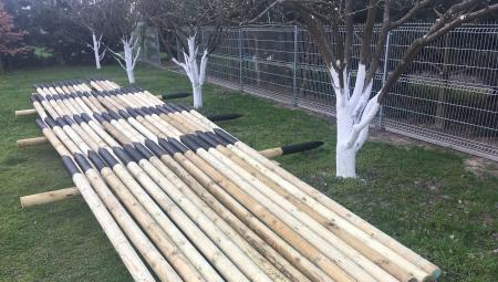 Jak skutecznie zaimpregnować drewniane pale sadownicze?