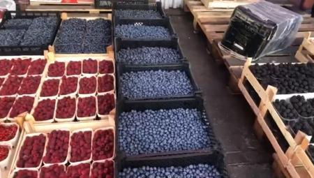 ŁRH Zjazdowa - ceny owoców sezonowych i sytuacja w handlu, 4 VIII 2021