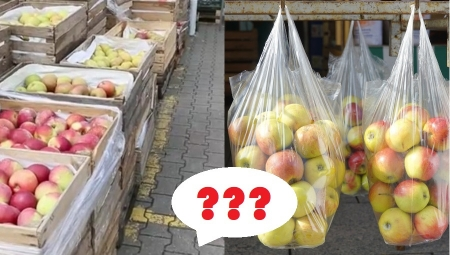 Rynek hurtowy czy detaliczny? Gdzie bardziej opłaca się obecnie sprzedawać jabłka?