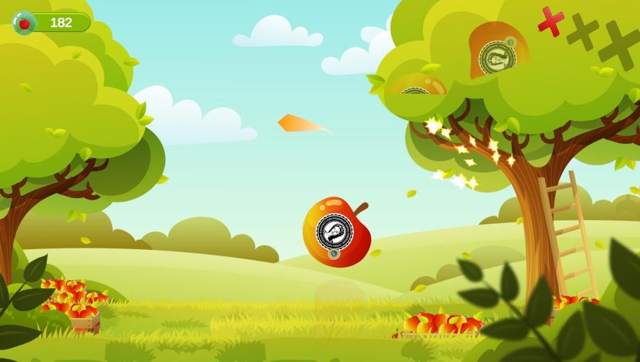 Gra na telefon zachęci dzieci do jedzenia jabłek?