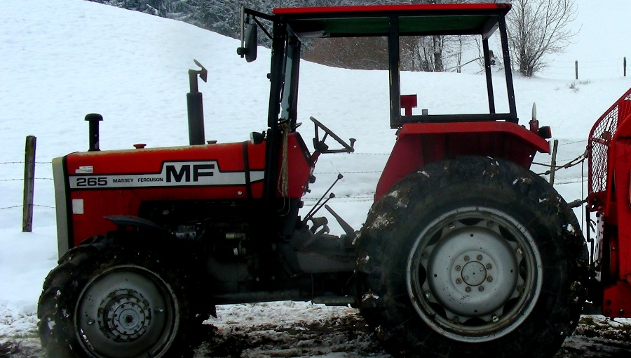 Mrozy - przypominamy o wlaniu zimowego paliwa do ciągnika