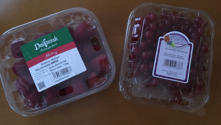 Biznes na importowanych owocach jagodowych?