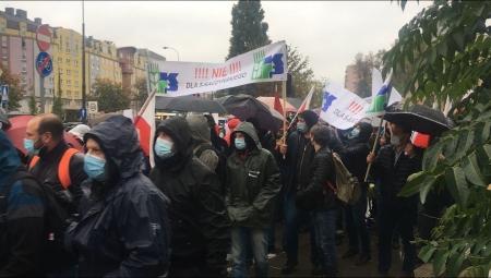 Relacja z protestu rolników w Warszawie, 13 X 2020