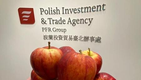 Polskie jabłka na Tajwanie
