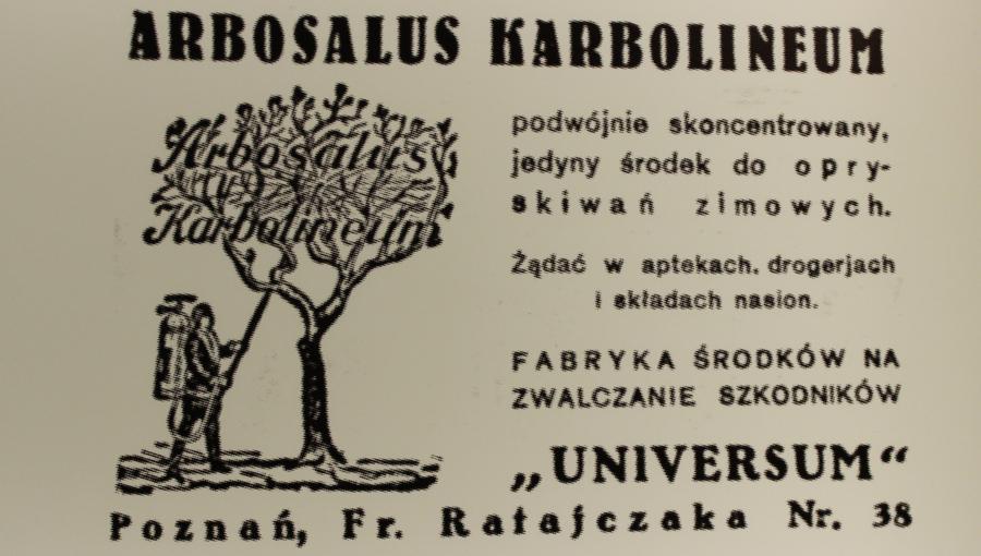 karbolineum z Poznania